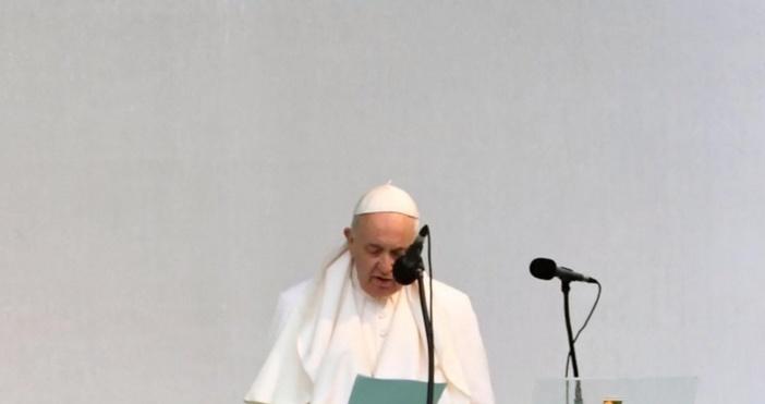Снимка БулфотоПосещението на папа Франциск в България струвало на държавата