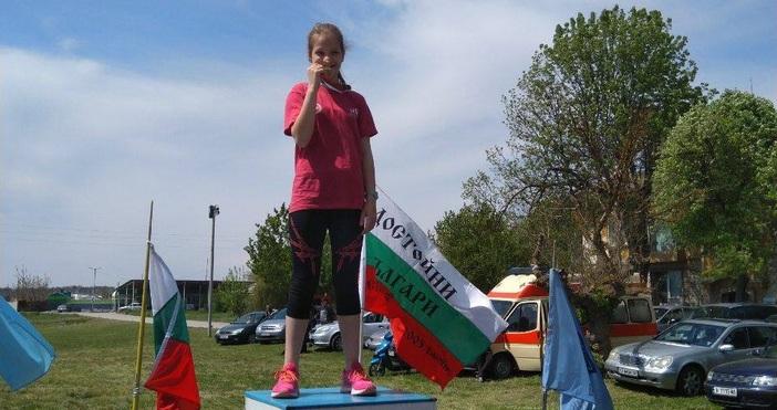 Два златни медала спечелиха талантливите лекоатлети на Нефтяник (Шабла). Те