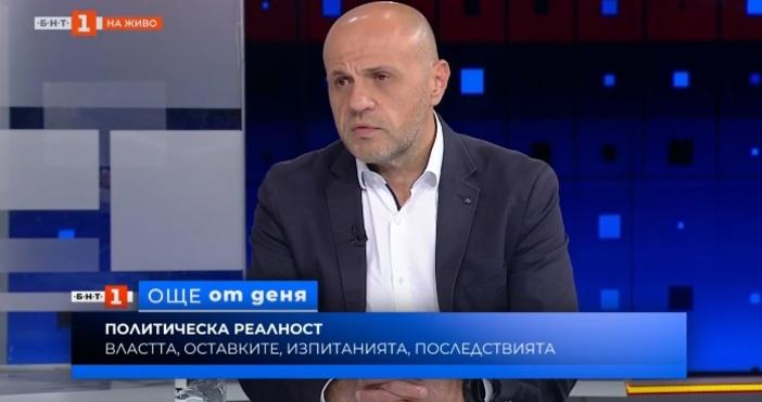 ВицепремиерътТомислав Дончев гостува в студиото на