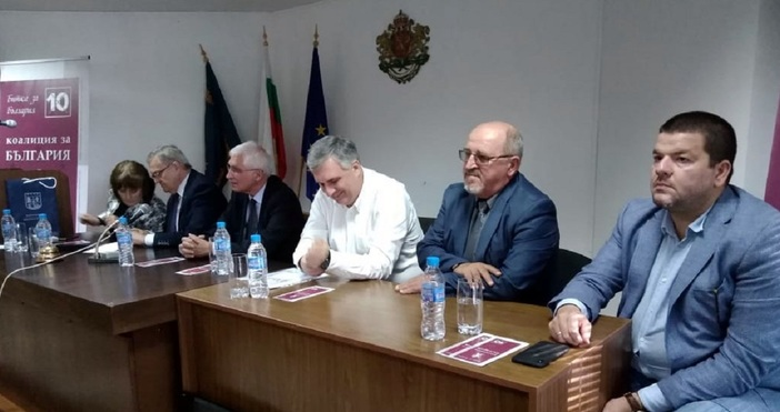 """На среща с граждани представители на """"Коалиция за България"""" представиха"""