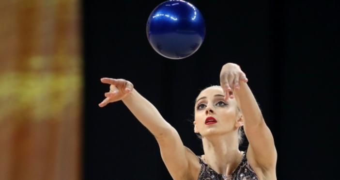 Снимка: Sportal.bgБоряна Калейн успя да спечели втори медал за българската