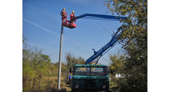 Електроразпределение Север завърши проект за изграждане на въздушна електропроводна мрежа
