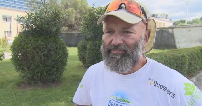 Над 1100 километра – толкова измина ултрамаратонецът Красимир Георгиев от