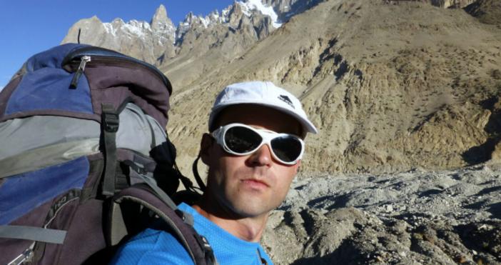 Снимка ФейсбукРодителите на загиналия под връх Лхотце алпинист Иван Томов
