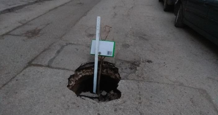 Асфалт пропадна след ремонт на варненска улица, става ясно от
