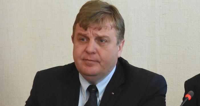 Лидерът на ВМРО Красимир Каракачанов обяви, че е доволен от