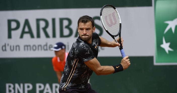 Григор Димитров стартира с успех участието си на Откритото първенство