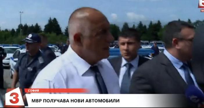 Кадър: Канал 3Току що Бойко Борисов изригна на въпрос на