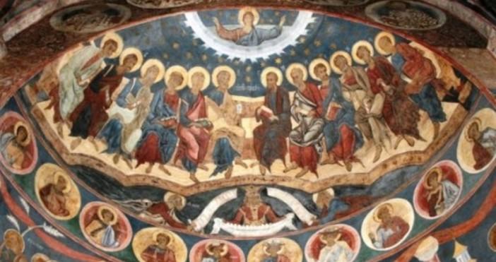 Днес Православната църква отбелязва Петдесетница. Празникът, известен още като Света