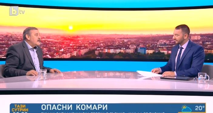 """Кадър: БТВВ """"Тази сутрин"""" по БТВ проф. Тодор Кантарджиев коментира"""
