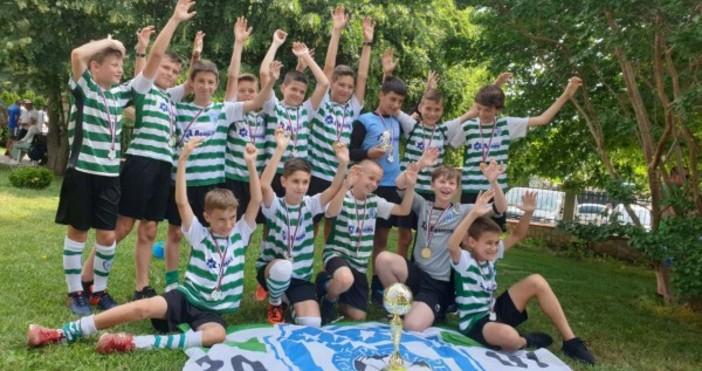 Футболните талантина Черно море, родени 2007 година, спечелиха международния турнир