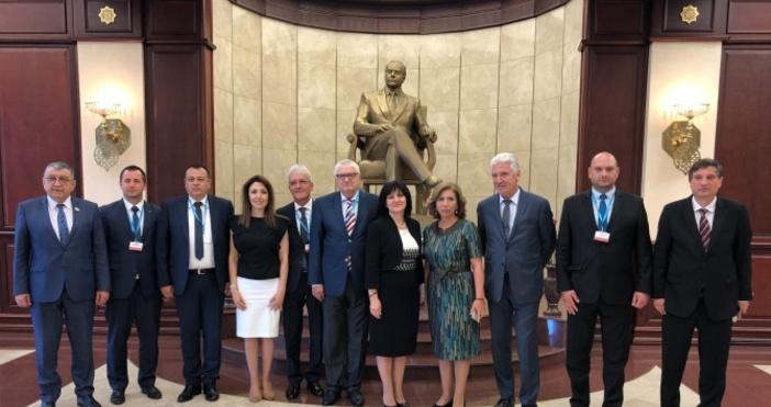 Снимка: Народно събраниеБългария поема председателството на Парламентарната асамблея на Черноморското