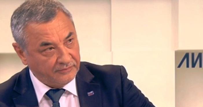Лидерът на НФСБ и бивш заместник-премиер Валери Симеонов отправи тежки