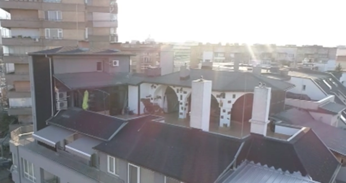 Кадър бТВНезаконните постройки върху терасатана антикорупционния шеф Пламен Георгиев няма