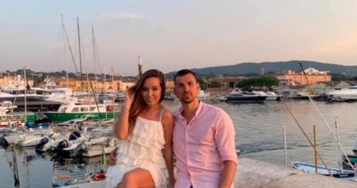 Снимка: Български национал предложи брак на любимата си
