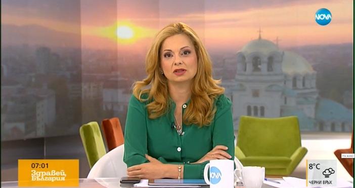 Аделина Радева отново остана сама в ефира на