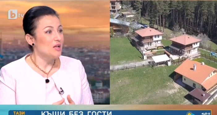 Кадър: БТВМинистърът на земеделието, горите и храните Десислава Танева коментира