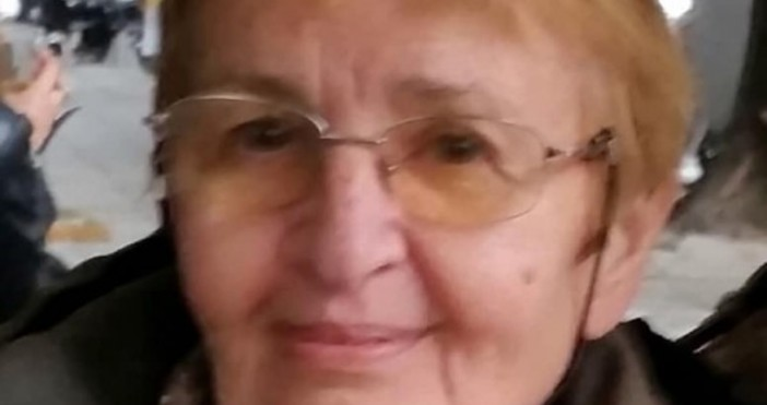 Снимка: Facebook 74-годишна жена е изчезнала в софийския квартал Лозенец,