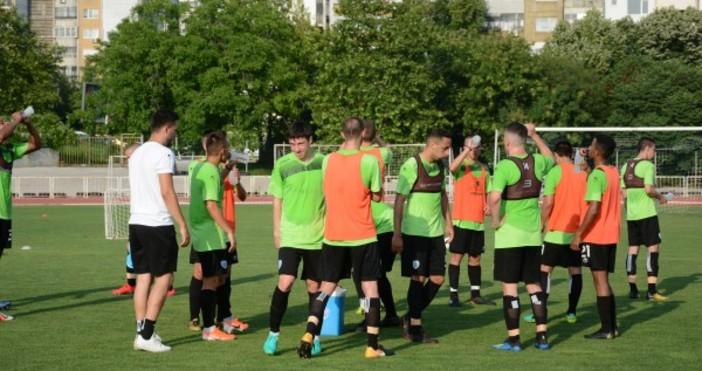 Отборът на Черно море започна подготовка за гостуването на ЦСКА