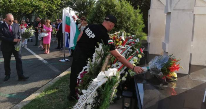 Снимка: МВРАтентатът в Сарафово, преди седем години,е събитието, което доведе