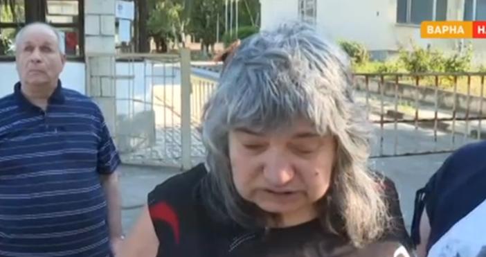 Снимка: Дупка на тротоар едва не уби две слепи жени във Варна