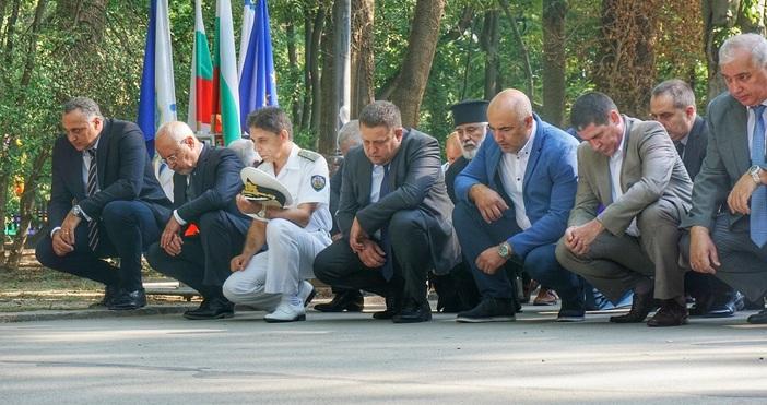 Снимки БулфотоОфициални лица и граждани се събраха за честване по