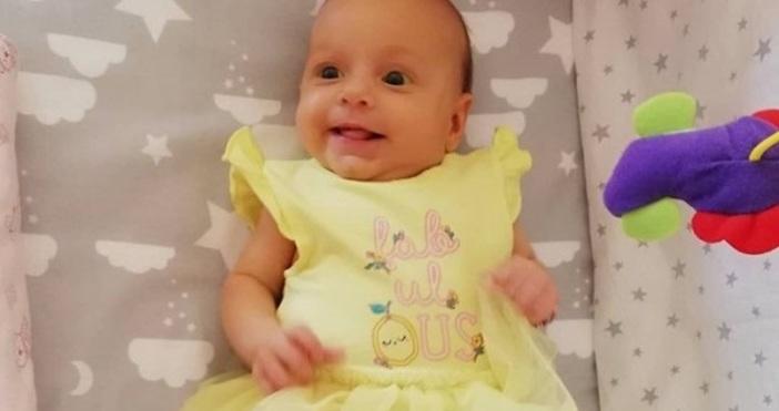 © Фейсбук Състоянието на малкото бебче Калина от Варна се