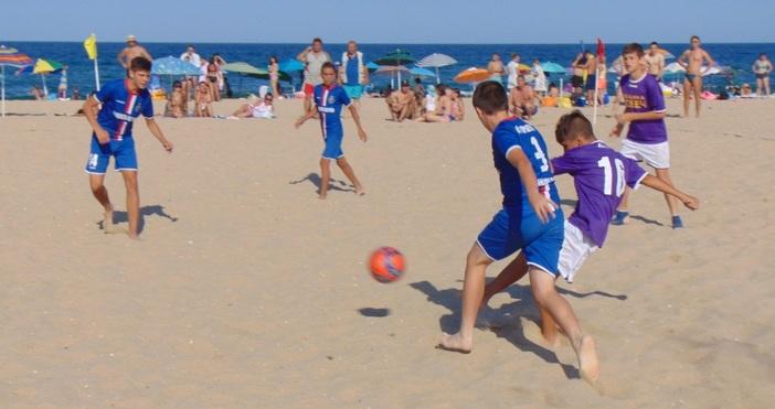 Отборът на Ловеч 2018 спечели турнира по плажен футбол за