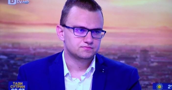 20-годишният Кристиян Бойков, който бе арестуван преди дни с обвинение