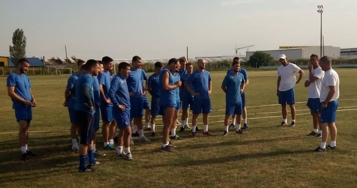 Треньорът на Спартак Диян Божилов съжалява, че са разочаровали своите