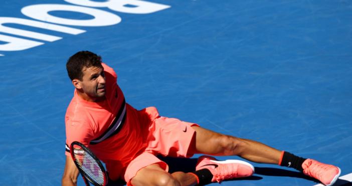 Григор Димитров отново загуби позиции в световната ранглиста по тенис.