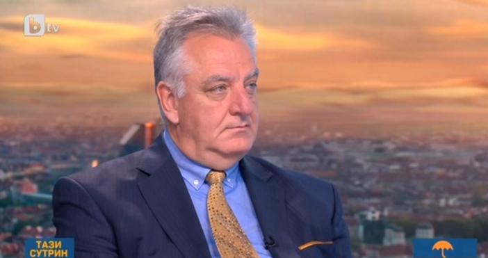 Кадър: БТВТоку що изпълнителният директор на Българската петролна и газова