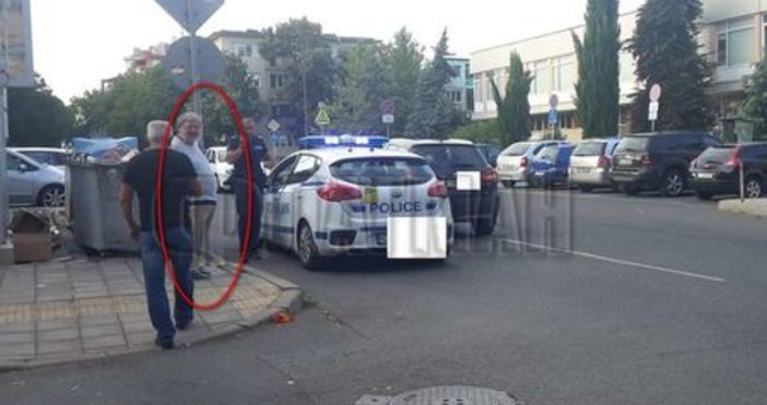 Снимка: Флагман.бгЖена пострада при пътен инцидент тази вечер в Бургас.
