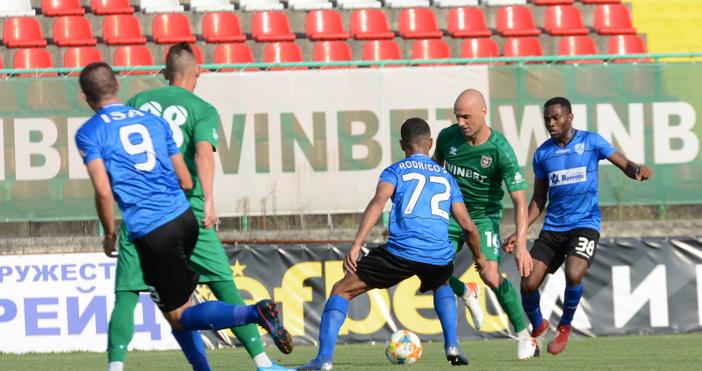 Снимка: Във Враца: Черно море изпусна победата и първото място. Остава трети