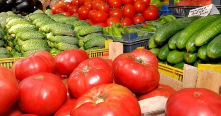 Снимка: БулфотоЦените на зеленчуците през юли са били с 10,4%