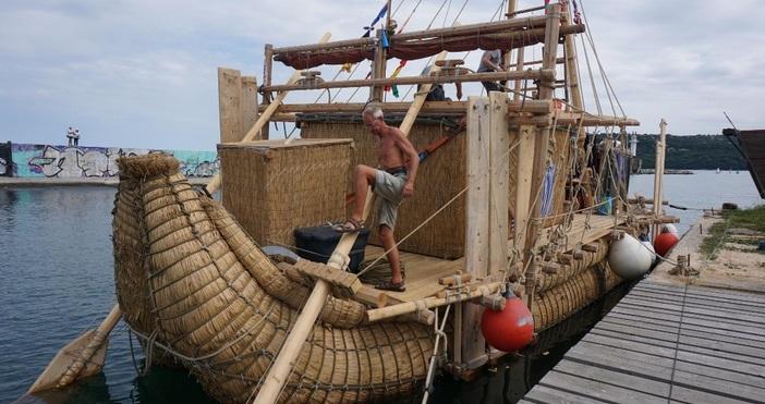 снимки: БулфотоМеждународна морска експедиция Абора IV отплава днес от кея