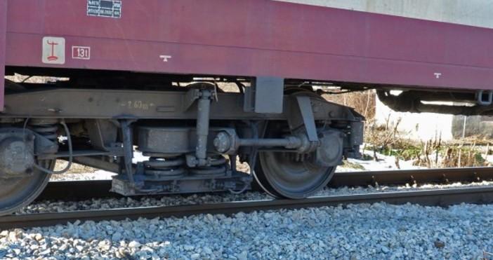 Кадър: БулфотоВлак блъсна и уби мъж на железопътния мост над
