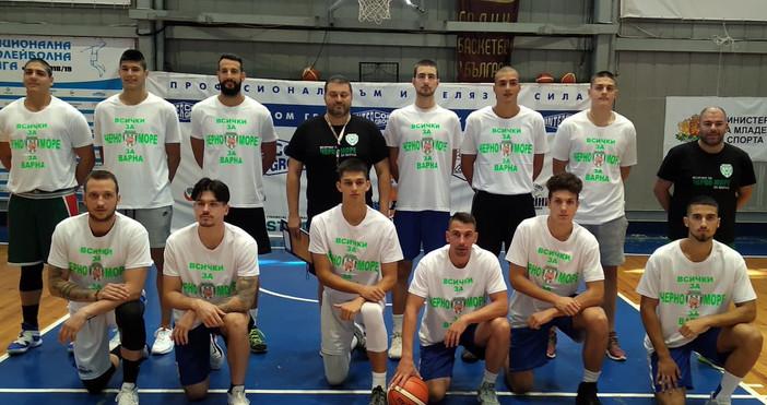 Баскетболният Черно море Тича се възражда. През миналия сезон клубът