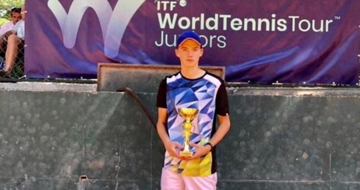 Пьотр Нестеров от варненския тенис клуб Черно море-Елит спечели титлата