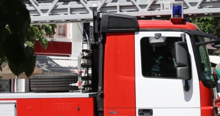 Вчера в 09,09 ч. е съобщено за пожар в кухнята