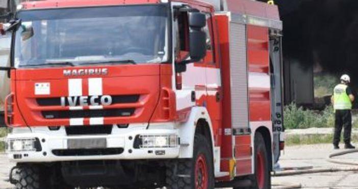 bTVВероятната причина за пожара е късо съединение в хладилна камераЗаведение