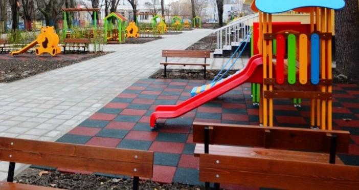 Игровите площадки в 10 детски ясли, които са с общ