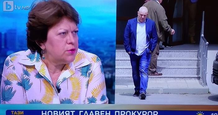 Бившият кандидат за президент Татяна Дончева, която е юрист, коментира