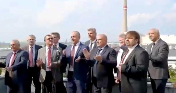 Снимка: Атомен хит! Работници и служители на АЕЦ Козлодуй записаха песен за централата