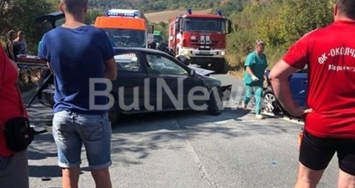 Тежка катастрофа затвори международен път Е-79 между Мездра и Ботевград,