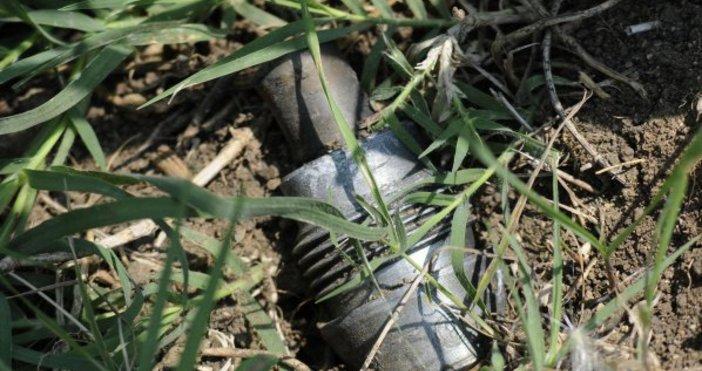 Снимка БулфотоЗемеделец от тетовското село Беловище е открил взривно устройство,