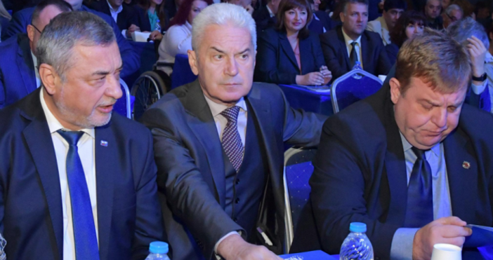 """Снимка: БулфотоПарламентарната група """"Обединени патриоти– НФСБ, АТАКА и ВМРО"""" да"""