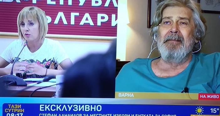 Големият български актьор Стефан Данаилов даде ексклузивен коментар пред БТВ
