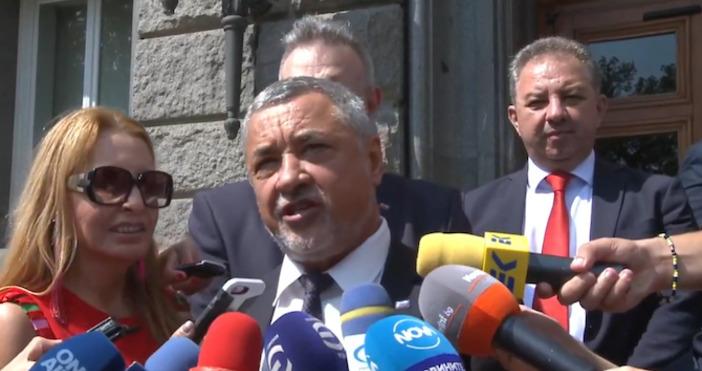 Националният фронт за спасение на България (НФСБ) се регистрира за