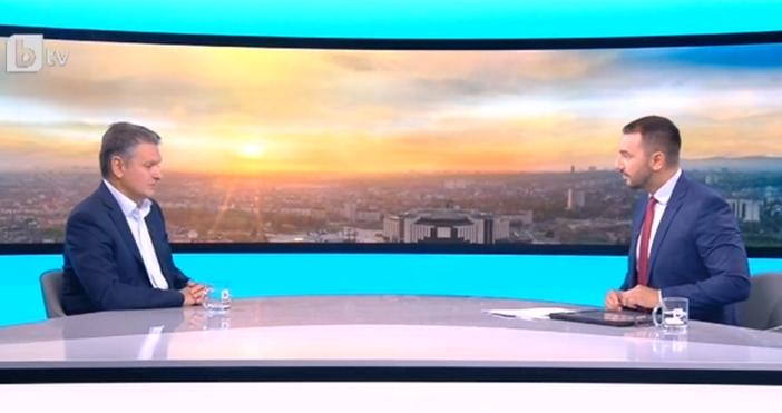 """Кадър: БТВВ студиото на """"Тази сутрин"""" по БТВ гостува председателят"""